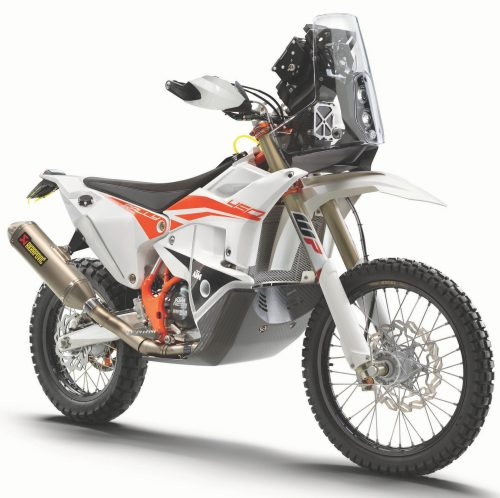 21.07.2020 OUT NOW: THE 2021 KTM 450 RALLY REPLICA GAINS SHARPER EDGE