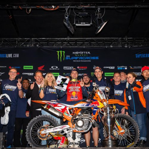 02.05.2021 COOPER WEBB CLINCHES KTM'S FIFTH AMA SUPERCROSS 450SX CHAMPIONSHIP